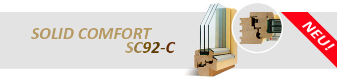 HOLZ FENSTER SOLID COMFORT SC92-C