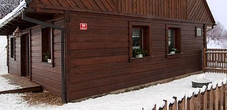 Passiv-Blockhaus