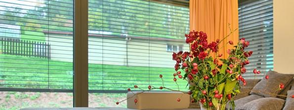 Fenster PROGRESSION in einem minimalistischen Haus