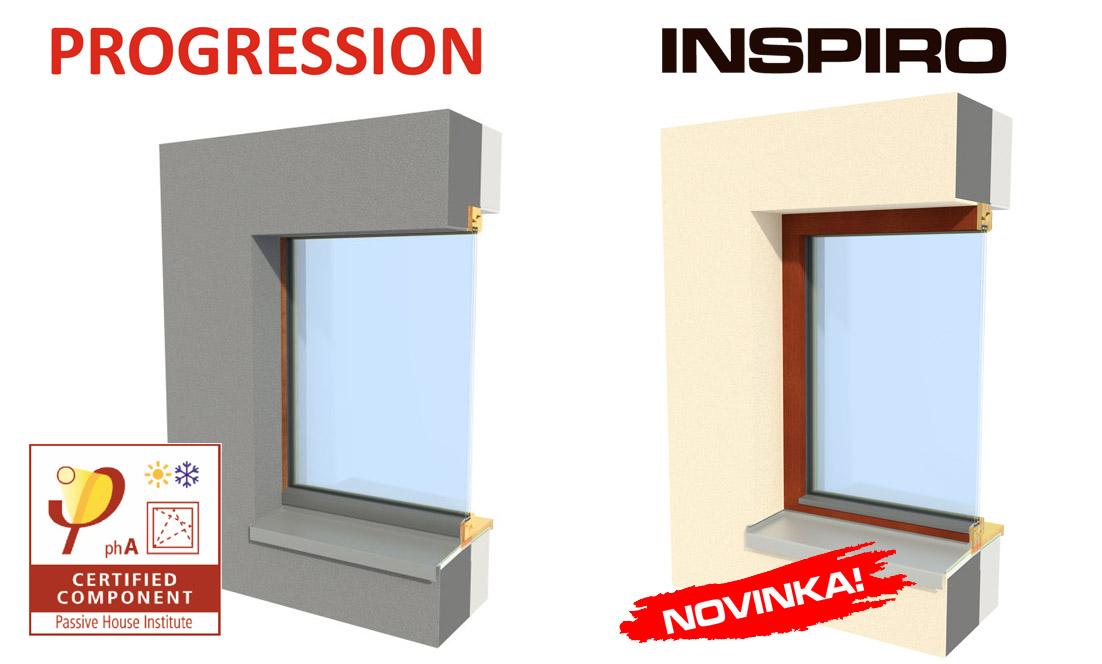 Holzfenster PROGRESSION und INSPIRO